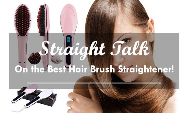 Best Hair Brush Straightener