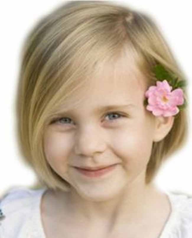 Chic Bob little girl haircuts