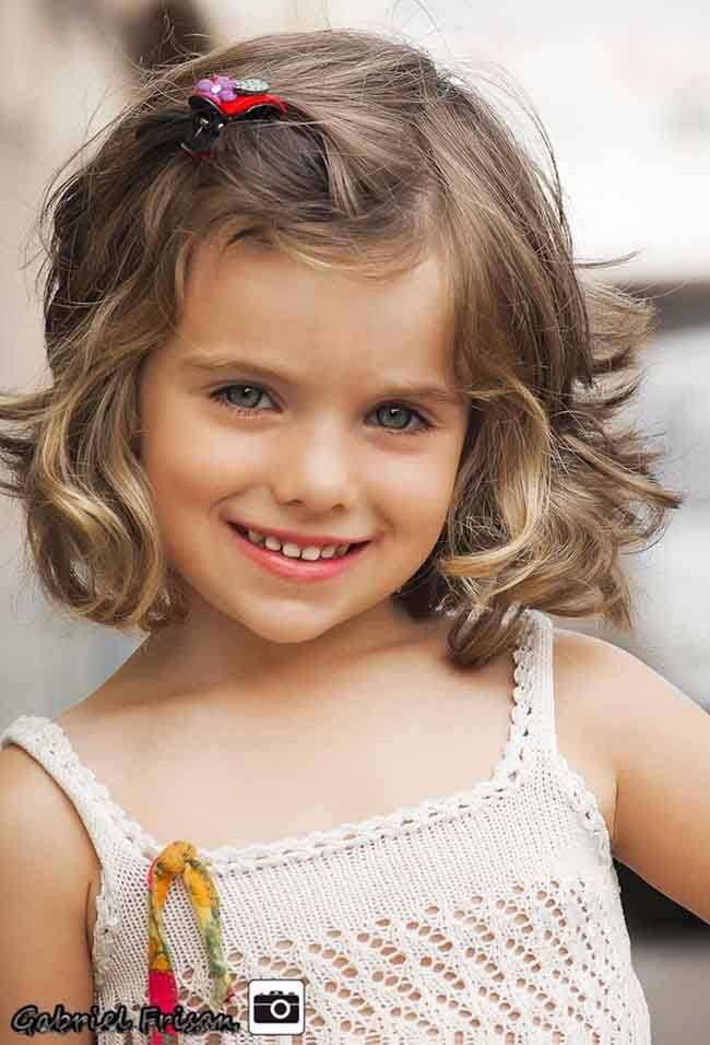 Wavy little girl haircuts