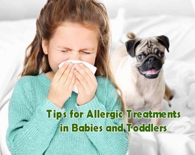 Allergic Treatments in Babies and Toddlers