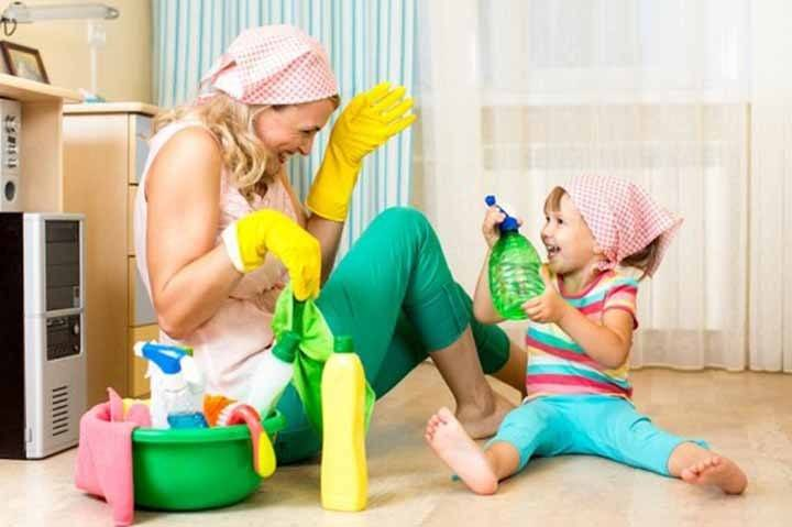 Cleaning Activities For Kids